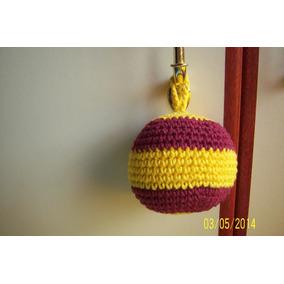 Colgante Movil- Pelota Tejida Al Crochet
