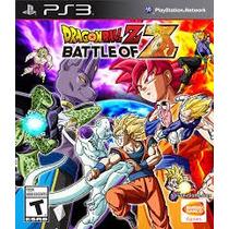 Dragon Ball Z: Battle Of Z Ps3 (leia A Descrição)