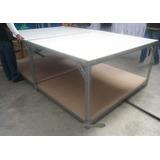 Mesa De Corte De Tecidos Confecção - Bancadas - (estrutura)