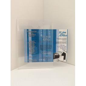 Porta Hojas Tamaño Carta Vertical Acrlico 3mm