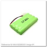 Bateria Para Carrinho 9,6v 1800mah Com Conector