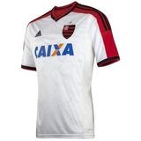 Camisa Flamengo adidas Branca 2014/2015