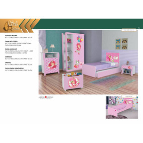 Dormitório Infantil / Juvenil Moranguinho