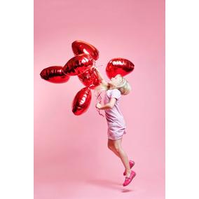 Ciclorama Papel Fondo Rosa Coral Para Estudio Fotografico