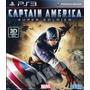 Capitan America Ps3 Fisico En Caja Tomo Usados!
