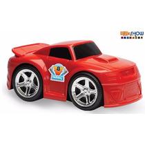 Carrinho Carro Movido A Fricção Brinquedo Criança Vermelho