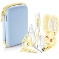 Set Avent Kit Cuidados Del Bebe Termometro , Peine , Cepil