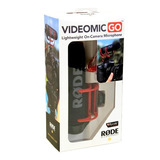 Microfone Direcional Rode Videomic Go + Deadcat