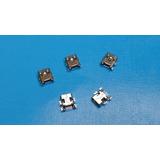 Mini Usb Jack Hembra Conector, V3 Puerto Para Mp3 Mp4 Gps Y