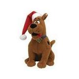 Ty Beanie Baby Scooby Doo Con Sombrero De Navidad 1bf3beb46b2