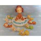 Souvenirs 20 Bebes Disfrazados+adorno De Torta