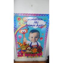 Baby Tv Cartel-banners-banderin-centros De Mesa-stickers