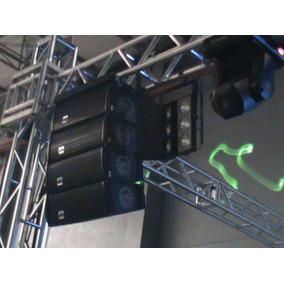 Caixa De Som Line Array Db Tecnology 16 Células 8 Pol+drive