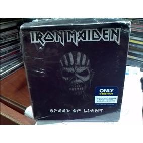 Iron Maiden Speed Of Light Cd Single Remera Xl Novedad Usa