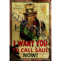 Poster You Better Call Saul ¿problema Legal? Llama A Saul!
