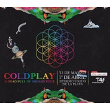 Entrada Coldplay Platea A Sur 1 Abril