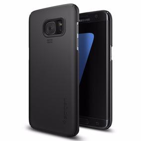 Funda Spigen Thin Fit Samsung Galaxy S7 Edge - Negro