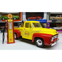 1:18 Ford F100 1953 Shell C Bomba Gasolina Greenlight