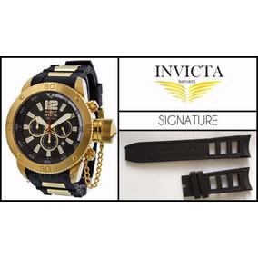 Pulseira Relógio Invicta Signature Ii 7427 7428 Preta