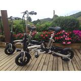 Bicicleta Eletrica Dobravel , Muito Leve E Pratica