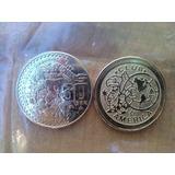 Moneda Equipo De Futbol Cruz Azul, America, Pumas, Chivas