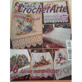 Kit 20 Revistas De Crochê Bia Moreira + Pôster De Crochê