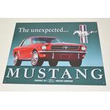 Tsn0579 Letrero Lamina Decorativa Ford Mustang