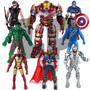 Muñecos Los Vengadores Avengers Set X5 Articulados 17cm