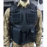 Kit 2 Capas De Colete Tático Em Nylon D600 Pb3 Vigilante,