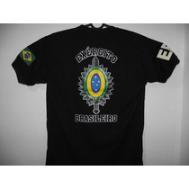 Camiseta Exército Brasileiro - Brasão Eb Dry-fit