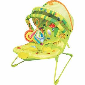 Cadeira Descanso Musical Bebe Frutinhas Divertidas Dican