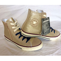 Converse All Star Chuck Taylor Doradas | Girl