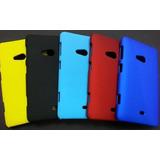 Capa Policarbonato Emborrachada Nokia Lumia 625 + Película