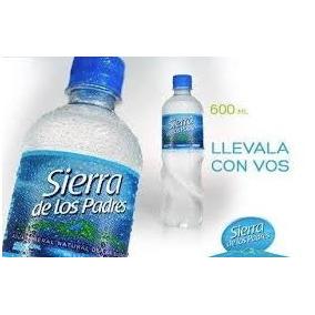 Agua Mineral Sierra De Los Padres X 600cc - Pack X 15 Unid