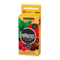 Preservativo Camisinha Prudence Mista Com 12 Unidades