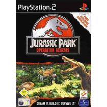 Patch Ps2 - Jurassic Park Operation Genesis
