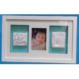 Cuadro Huellas Kit Baby Wall