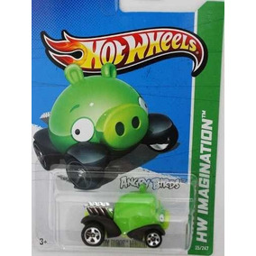 Hotwheels Angry Bird Porco - 2014 N4