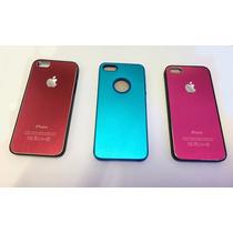 Funda Case Aluminio Iphone 5g O Se Azul Rosa Rojo