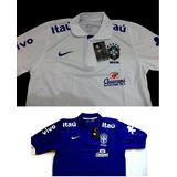 Camisa Polo Treino Seleção Brasileira Copa 2014 F.gratis