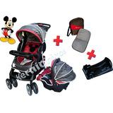 Combo Coche Cuna+huevito+butaca+bolso Disney Mickey