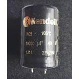 Condensador Kendeil 10000 Uf 40 V 105° Audio Snap In