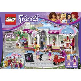 Lego Friends 41119 Cafetería De Heartlake 439 Pzs