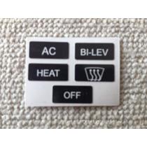 Calcos Para Reparo De Botones Aire Acondicionado Gol Gl-gti