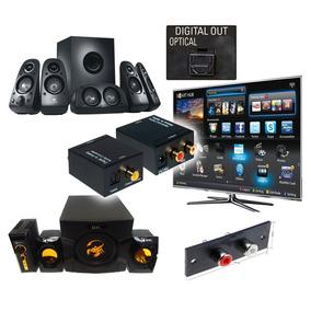 Convertidor De Audio Digital A Analogo O Rca A Digital Nuevo