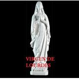 Virgen De Lourdes, 65 Cm. , De Yeso