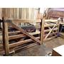 Tranqueras De Madera Anchico Rural- Biseladas - Fabricantes