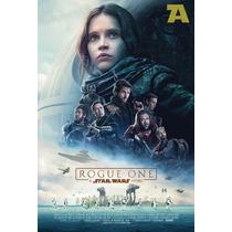 Poster De Lona Vinilica - Star Wars Rogue One - Cuotas!
