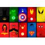Placas Decorativas Herois Geek E Series Quarto Sala Cozinha