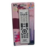 Controle Maxmidia Max-916 Remoto Tv Universal 57x145mm Un